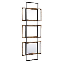 Zuo Modern Mirror Times 3 Brown