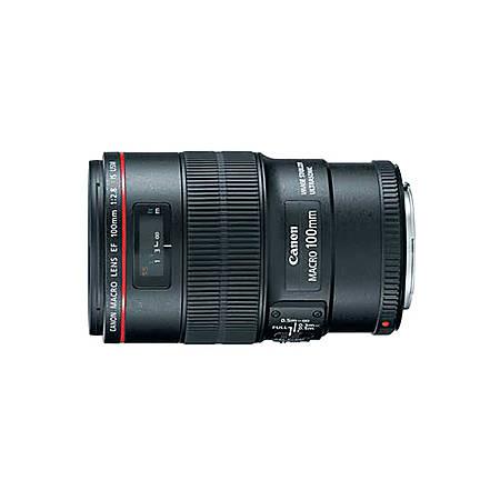 Canon EF 100mm f/2.8L IS USM Macro Lens - 100mm - f/2.8