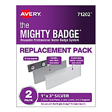 Avery 71202 The Mighty Badge Professional