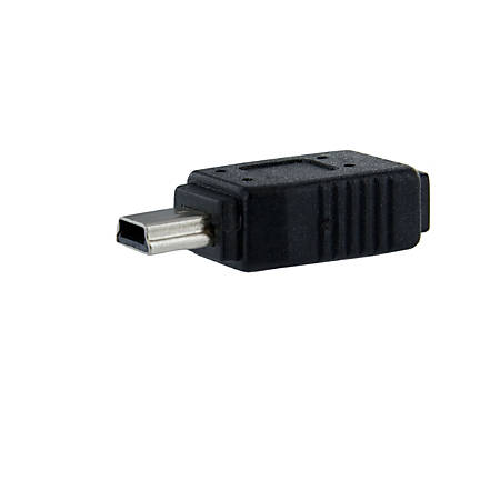 StarTech.com Micro USB to Mini USB Adapter F/M - PVC