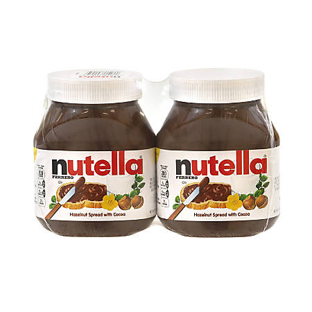 Nutella Hazelnut Spread, 26.5 Oz, Pack Of 2 Jars