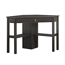Sauder Beginnings Corner Computer Desk Cinnamon