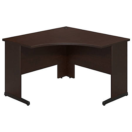 "Bush Business Furniture Components Elite C Leg Corner Desk, 48""W x 48""D, Mocha Cherry, Standard Delivery"