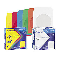 Quality Park Color CDDVD Envelopes Assorted