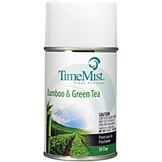 TimeMist Metered Refill BambooGreen Tea Air