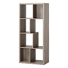 Homestar North America 7 Compartment Bookcase
