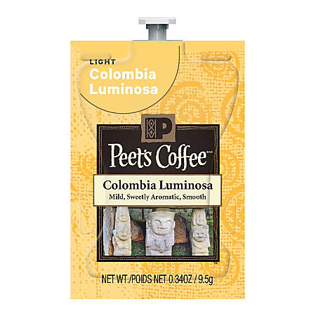 Peet's Coffee™ Colombia Luminosa, Freshpacks, 0.34 Oz, Box Of 72