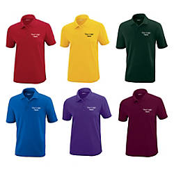 Womens Performance Pique Polo