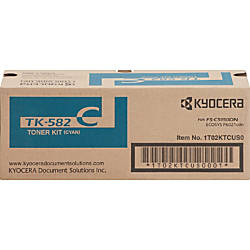 Kyocera TK 582C Original Toner Cartridge