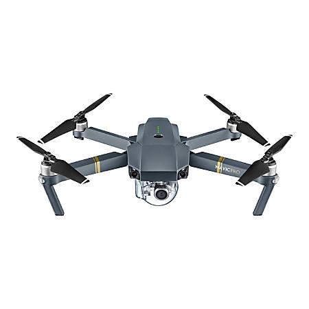 DJI Mavic Pro Quadcopter With 4K Ultra HD Camera, Gray, CP.PT.000500