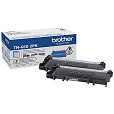 Brother TN 660 Toner Cartridge Black