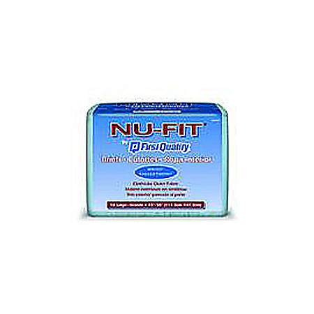"Nu-Fit® Briefs By First Quality®, 56""-64"", Extra Large, Pack Of 15"