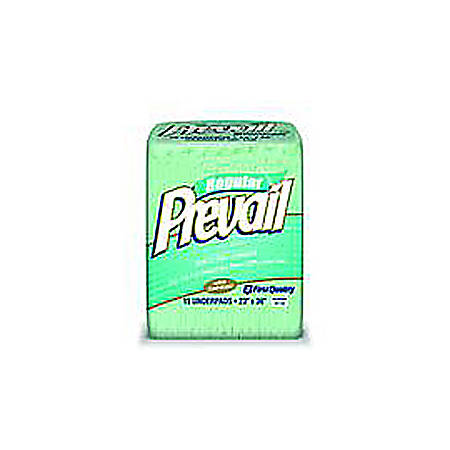 """Prevail® High Performance Fluff Underpads, 23"""" x 36"""", Pack Of 15"""