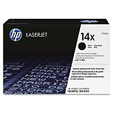 HP 14X CF214X Black Toner Cartridge