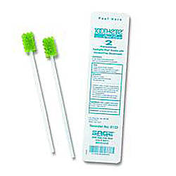 Toothette Plus Oral Swabs Premoistened With