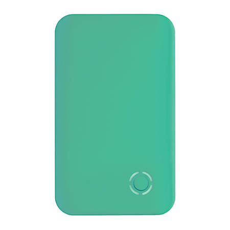 Ativa® Ultra-Slim Power Bank, 2,500 mAh, Teal, BLADE2500-TEAL