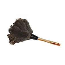 Impact Ostrich Feather Duster Brown Case