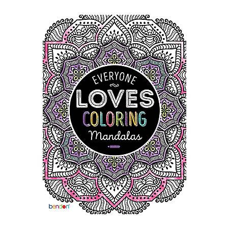 Bendon Adult Coloring Book Mandalas