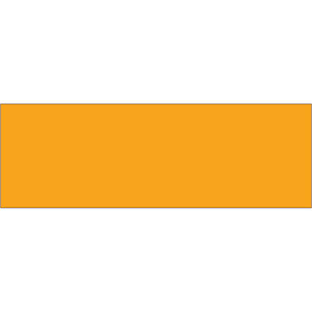 """Tape Logic® Write™On Inventory Labels, DL637H, Rectangle, 3"""" x 9"""", Fluorescent Orange, Roll Of 250"""