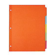 Office Depot Brand Plain Dividers With