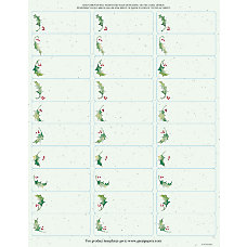 Great Papers Holiday Address Labels 903724