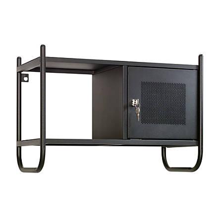 Sauder® Boulevard Cafe Metal Wall Cabinet, Black