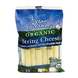 Organic Creamery Organic String Cheese 1