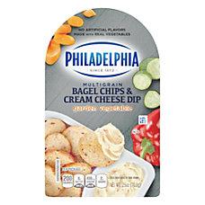 Philadelphia Multigrain Bagel Chips And Garden