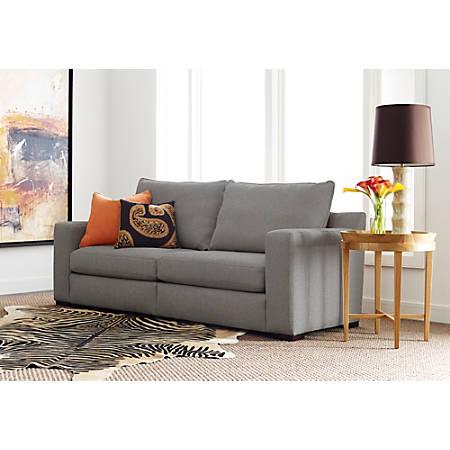 """Serta Geneva Sofa, 85"""", Gray"""