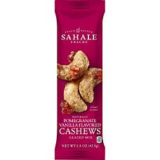 Sahale Snacks PomegranateVanilla Cashew Glazed Snack