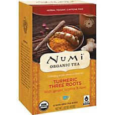Numi Turmeric Organic Tea Licorice Spicy