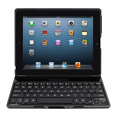 Belkin® Keyboard With Case For Apple® iPad®, Black