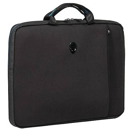 "Mobile Edge Alienware Vindicator Carrying Case (Sleeve) for 17.3"" Notebook - Teal, Black"