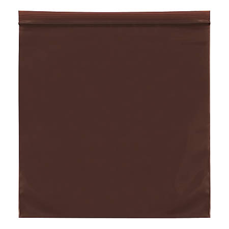 """Office Depot® Brand 3-Mil Reclosable UV Bags, 4"""" x 6"""", Amber, Case Of 1,000"""