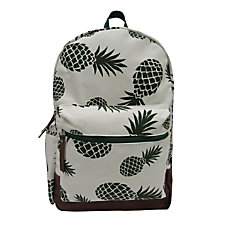 Aquarius Canvas Backpack With 16 Laptop