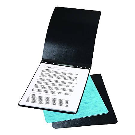 "ACCO® Presstex® Top-Bound Report Binder, 2-3/4"" CC, 8-1/2"" x 14"", 60% Recycled, Light Blue"