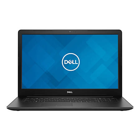 "Dell™ Inspiron I7 3780 Laptop, 17.3"" Screen, Intel® Core™ i3, 4GB Memory/16GB Optane Memory, 1TB Hard Drive, Windows® 10, I3780-3202BLK-PUS"