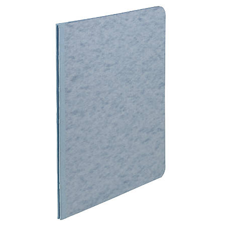 "ACCO® Pressboard Report Cover With Fastener, Side Bound, 8 1/2"" x 11"", 60% Recycled, Light Blue"