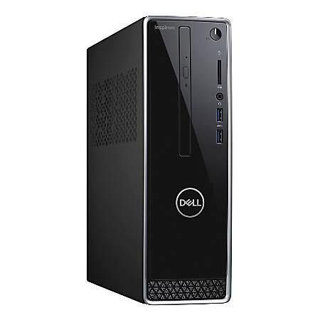Dell™ Inspiron 3472 Desktop PC, Intel® Pentium® Silver, 4GB Memory, 1TB Hard Drive, Windows® 10, I3472-P975BLK-PUS