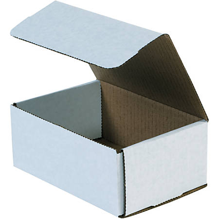 """Office Depot® Brand 12"""" Corrugated Mailers, 3""""H x 9""""W x 12""""D, White, Pack Of 50"""