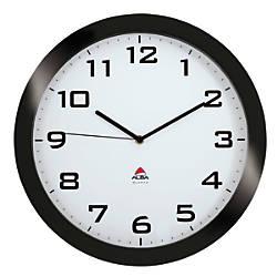 Alba Silent Round Wall Clock 15