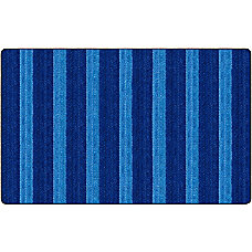 Flagship Carpets Basketweave Stripes Classroom Rug