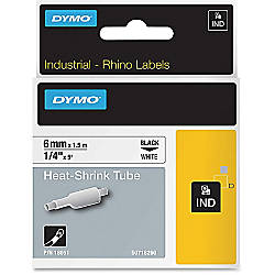 Dymo Rhino Heat Shrink Tube Labels