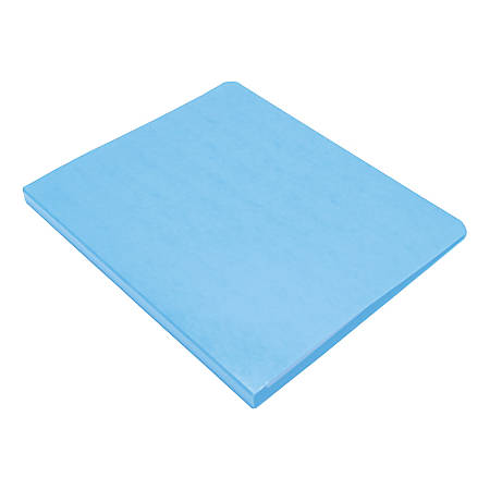 "Wilson Jones® PRESSTEX® Side-Bound Grip Binder, 8 1/2"" x 11"", 60% Recycled, Light Blue"