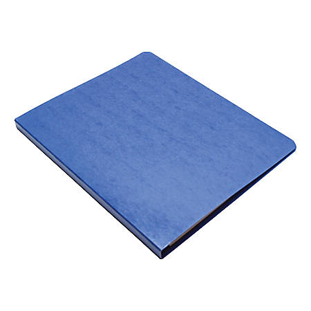 "Wilson Jones® PRESSTEX® Side-Bound Grip Binder, 8 1/2"" x 11"", 60% Recycled, Dark Blue"