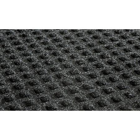Waterhog Low-Profile Floor Mat, 4' x 10', Coal Black