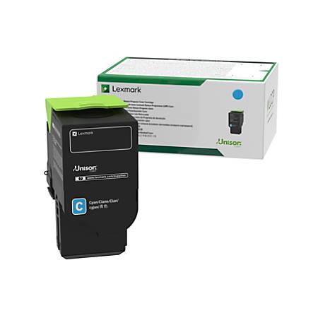 Lexmark™ 78C1UC0 Ultra-High-Yield Return Program Cyan Toner Cartridge