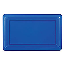 Amscan Plastic Rectangular Trays 11 x