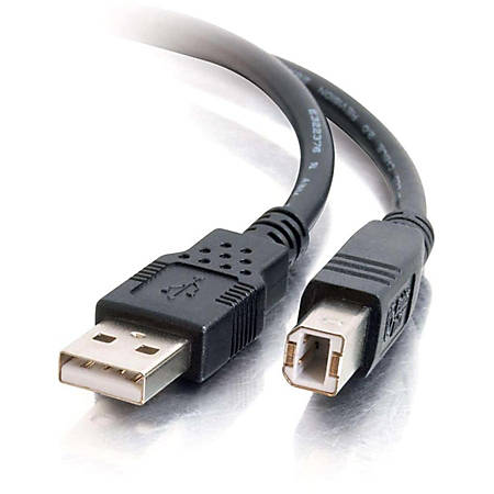 C2G 5m USB A to B Cable - Printer Cable - USB Cable - USB 2.0 - 16ft - Black
