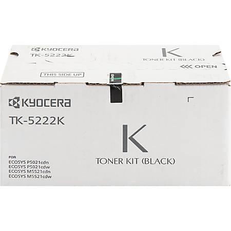 Kyocera TK 5222K - Black - original - toner cartridge - for ECOSYS M5521cdn, M5521cdw, M5521cdw/KL3, P5021cdn, P5021cdn/KL3, P5021cdw